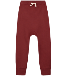 Gray label- Baggy pants, burgundy