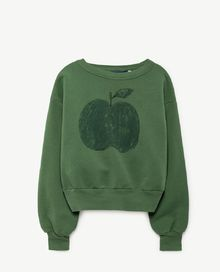 TAO - Bear kids sweatshirt, green apple