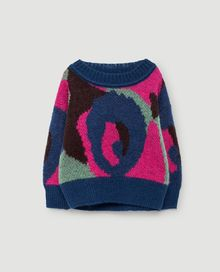 TAO - Bull babies sweater, electric blue