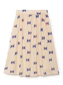 Bobo Choses - Butterfly midi Skirt, offwhite
