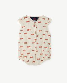 TAO - BUTTERFLY BABIES SUIT, RAW WHITE NOSEMAN