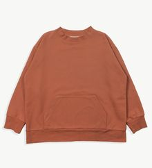 Main story - Wide Sweatshirt, clay