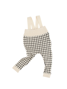 Tinycottons - Grid knitted baby pants