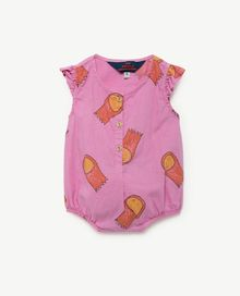 TAO - Butterfly babies suit, fuchsia halleys