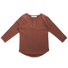 Phil&Phae - Henley top, Russet