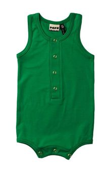 Papu - Cucumber summersuit, green