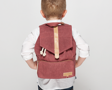 Kaos - Kids backbag, marsala