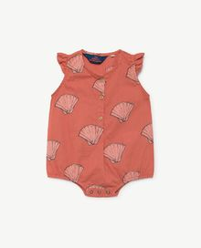 TAO - Butterfly babies suit, red shells