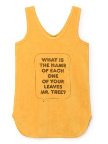 Bobo Choses - What Terry Dress, yellow