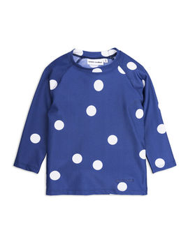 Mini Rodini - Dot uv top, navy