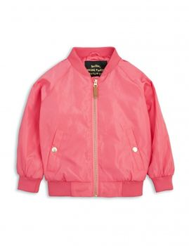mini rodini - Frog baseball jacket, cerise