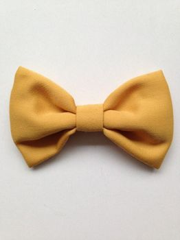 Suussies - Bow tie, yellow