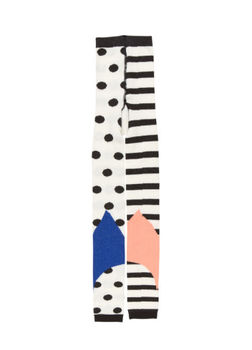 BANGBANG Copenhagen - Dots and stripes tights