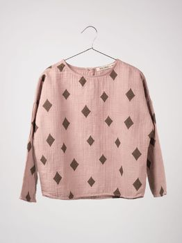 Bobo Choses - Blouse diamond sky, beaver