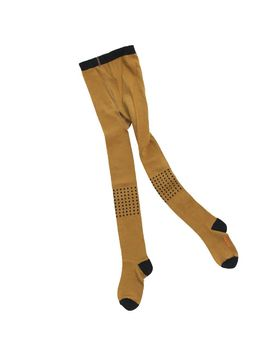 Tinycottons - Dots tights, brown