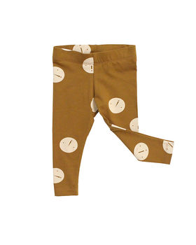 Tinycottons - Faces pants, brown