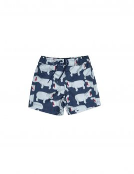 mini rodini - Hippo swimshorts, grey