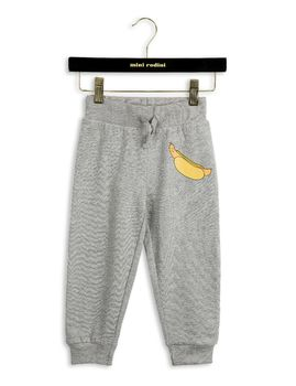 mini rodini// Memory lane- Hotdog sweatpants, grey mel.