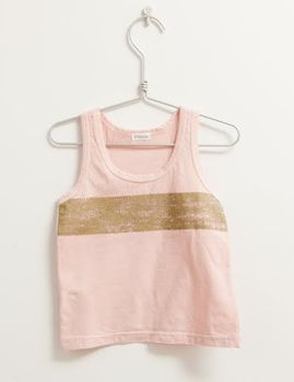 Picnik Barcelona - Tank top, pink/gold