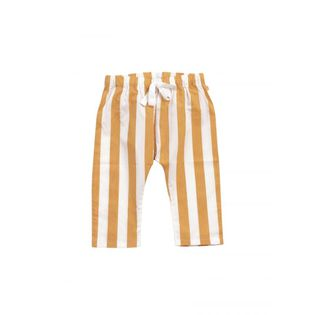 Tinycottons - Stripes pants, white and camel
