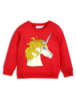 mini rodini - Unicorn SP sweatshirt, red