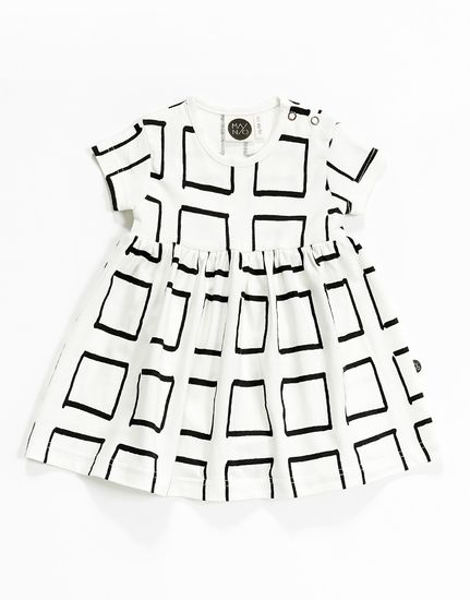 Mainio - Frames body dress, white   Pikkuotus -Children´s clothing