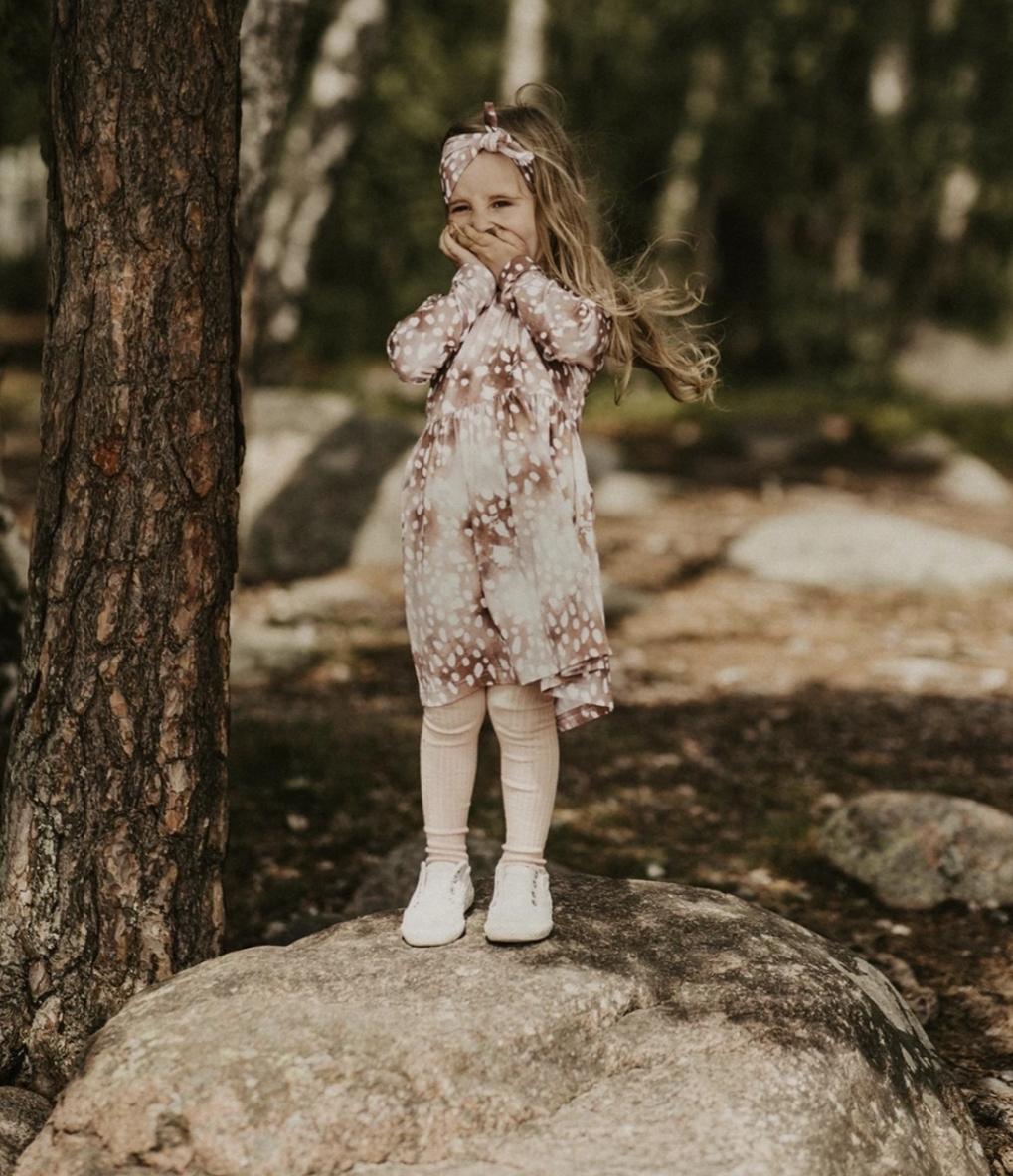 KAIKO Bambi Dress Ls, Copper Bambi | Lasten mekko, Copper