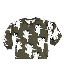 Mainio - DOGGI SWEATSHIRT, Dusty Olive