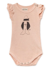 Bobo Choses - Paul s Short Sleeve Body, Rose Dust (119171)