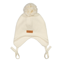 Gugguu - One tuft baby beanie, White cream