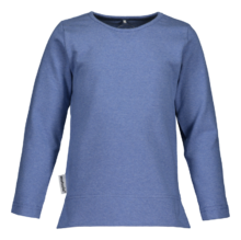 Metsola - TRICOT T-shirt LS Basic, denim