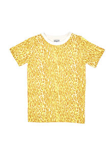 WILDKIND KIDS - LANCE LONG T-SHIRT, Leopard yellow