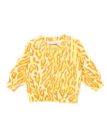 WILDKIND KIDS - MARIUS SWEATSHIRT, Leopard yellow
