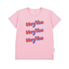 Tinycottons - HEY YOU SS TEE - Pink / Red