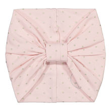 METSOLA - Dots tricot Bandana, Smoke Rose / Gold