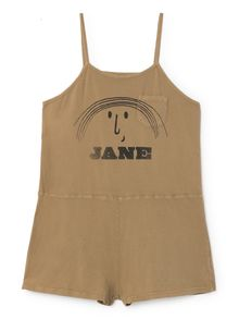 Bobo Choses - Little Jane Playsuit, muted clay