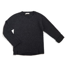 Phil&Phae - Woolmix knit sweater, Charcoal