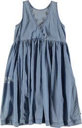 Molo Kids - Caera dress, Summer Wash Indigo