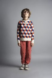 Bobo Choses - Art knitted jumper blue