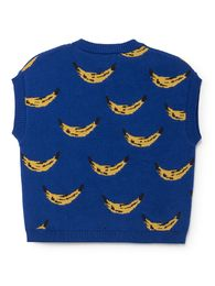Bobo Choses - Blue knitted vest