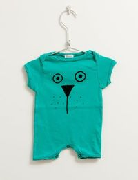 Picnik Barcelona - Short body, green teddy
