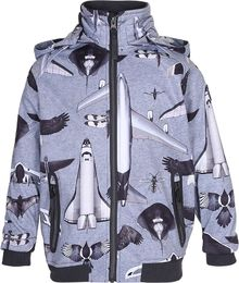 Molo kids - Cloudy soft shell jacket, planes and birds