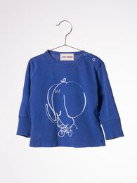 Bobo Choses - Baby shirt LS The cyclist