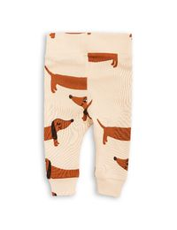 mini rodini - Dog NB leggings, beige
