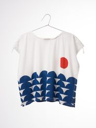 Bobo Choses - T-shirt Drawstring rowing