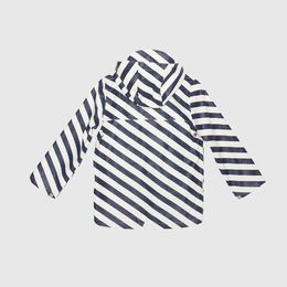 Gosoaky - Elephant man rain jacket, stripes
