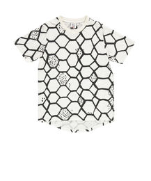 Beau LOves - Fin tee SS love net, vanilla