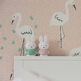 Miffy money box medium, powder pink