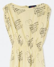 TAO - Kids museum dress, soft yellow