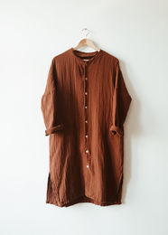 Monkind - Dust Long Shirt, Mi-red